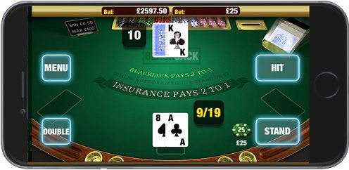Blackjack on Mobile