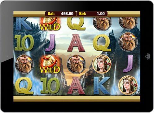 iPad Heroic Slot Game