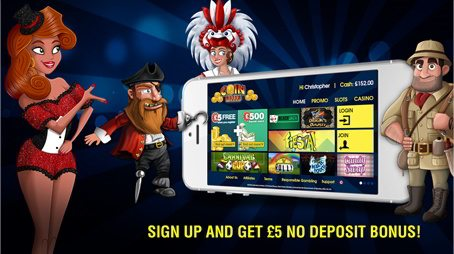 £5 Free Sign Up Bonus Offer