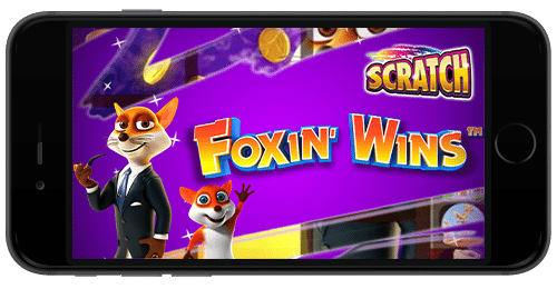 Foxin Wins Scratch iPhone