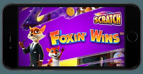 Foxin Wins Scratch iPhone