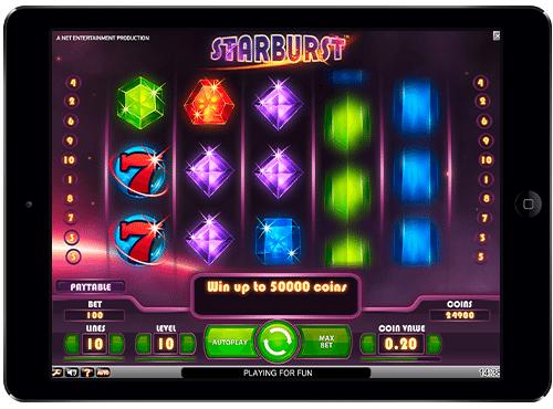 slot game starburst free