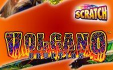 volcano eruption scratch