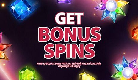 deposit match bonus spins