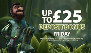 Friday Deposit Match