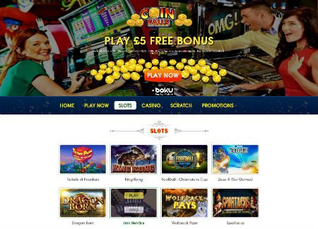 CoinFalls Play Casino
