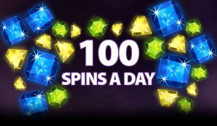 100 Spins a Day
