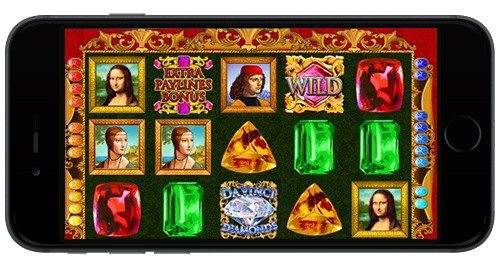 Da Vinci Diamonds Slots Casino