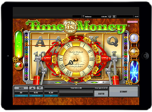 time is money casino